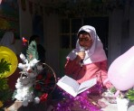 قراائت قرآن در جشن شکوفه ها دبستان بنت الهدی