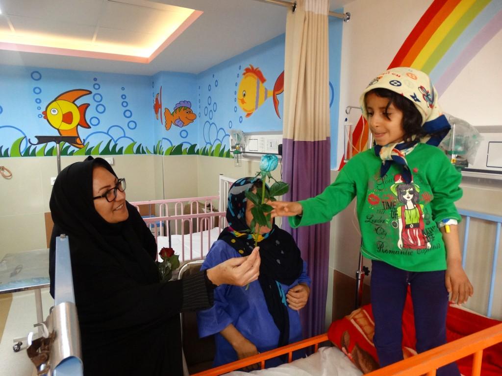 بازدید از بیمارستان شهدای گمنام یاسوج