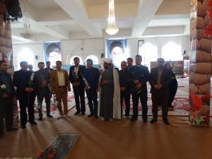 عطرافشانی گلزار شهداء در یاسوج