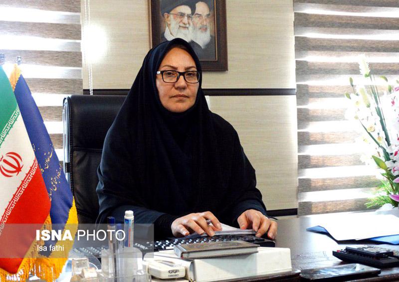 سرکار خانم نیک مرام مدیرکل تعاون کار ورفاه اجتماعی استان