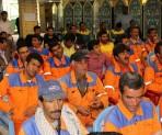 حضور پرشور کارگران در همایش بزرگ کارگری