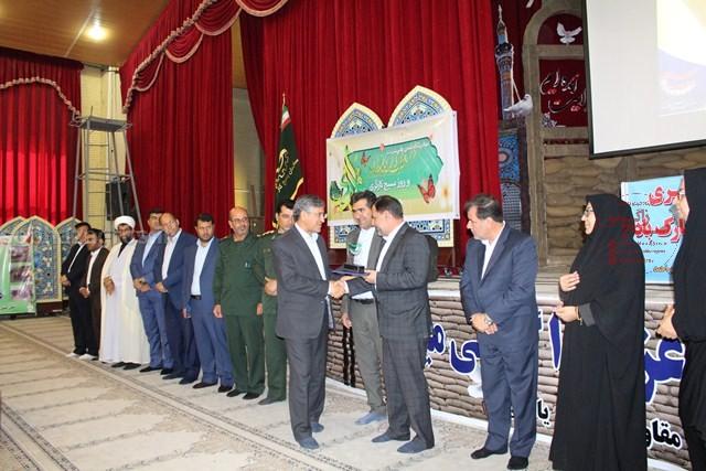 تجلیل از شهردار یاسوج در همایش بزرگ کارگری